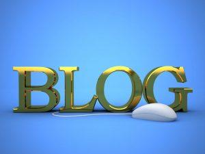 Vad kan man blogga om?
